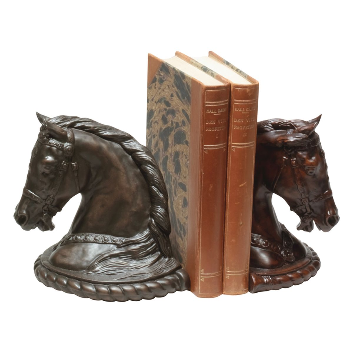 Clementine Horse Head Bookends