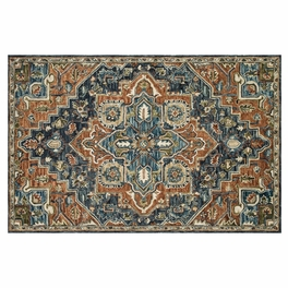 Clementine Midnight Rust Rug Collection