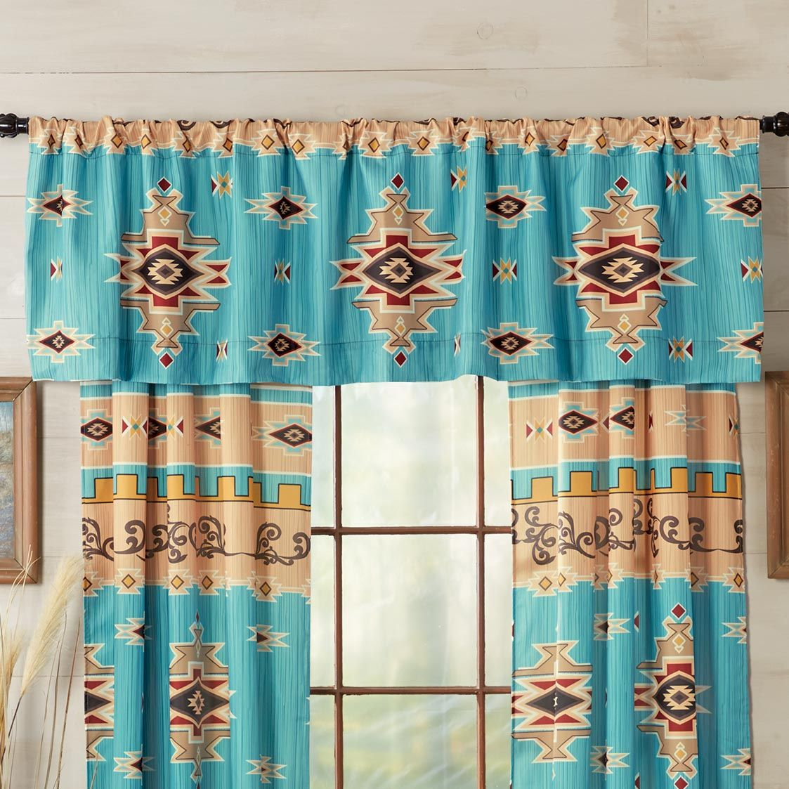 Colorado River Lined Valance