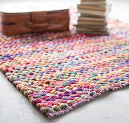 Colorful Cotton Accent Rug