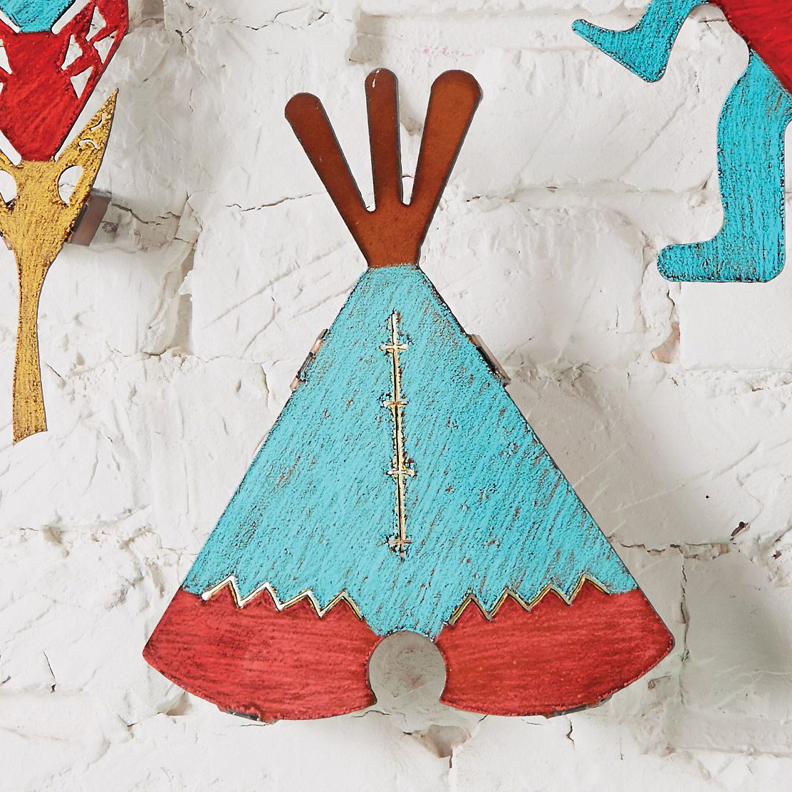 Colorful Teepee Wall Art