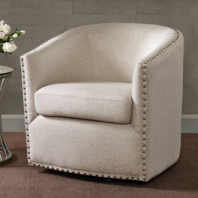 Colton Swivel Chair - Natural