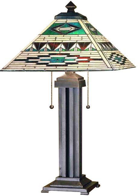 Comanche Mission Table Lamp