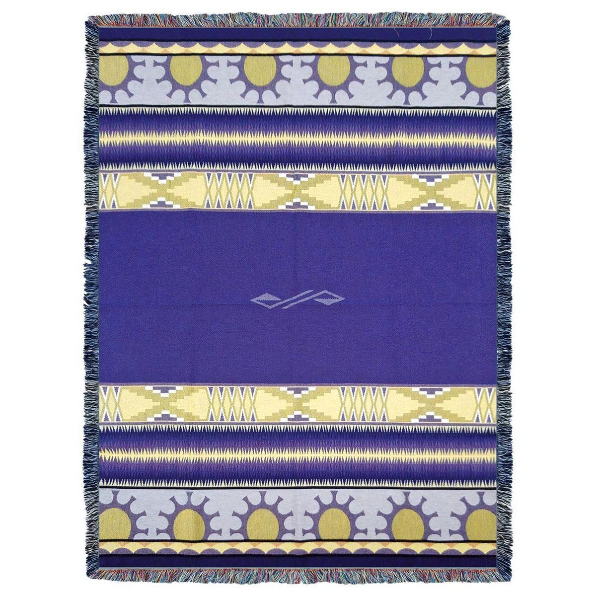 Concho Springs Plum Tapestry Throw