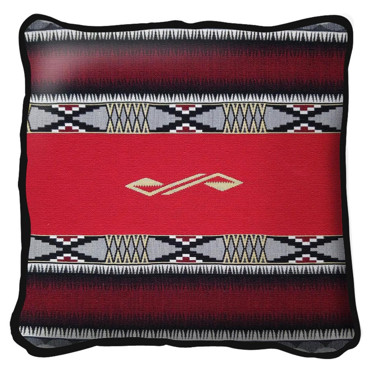 Concho Springs Red Pillow