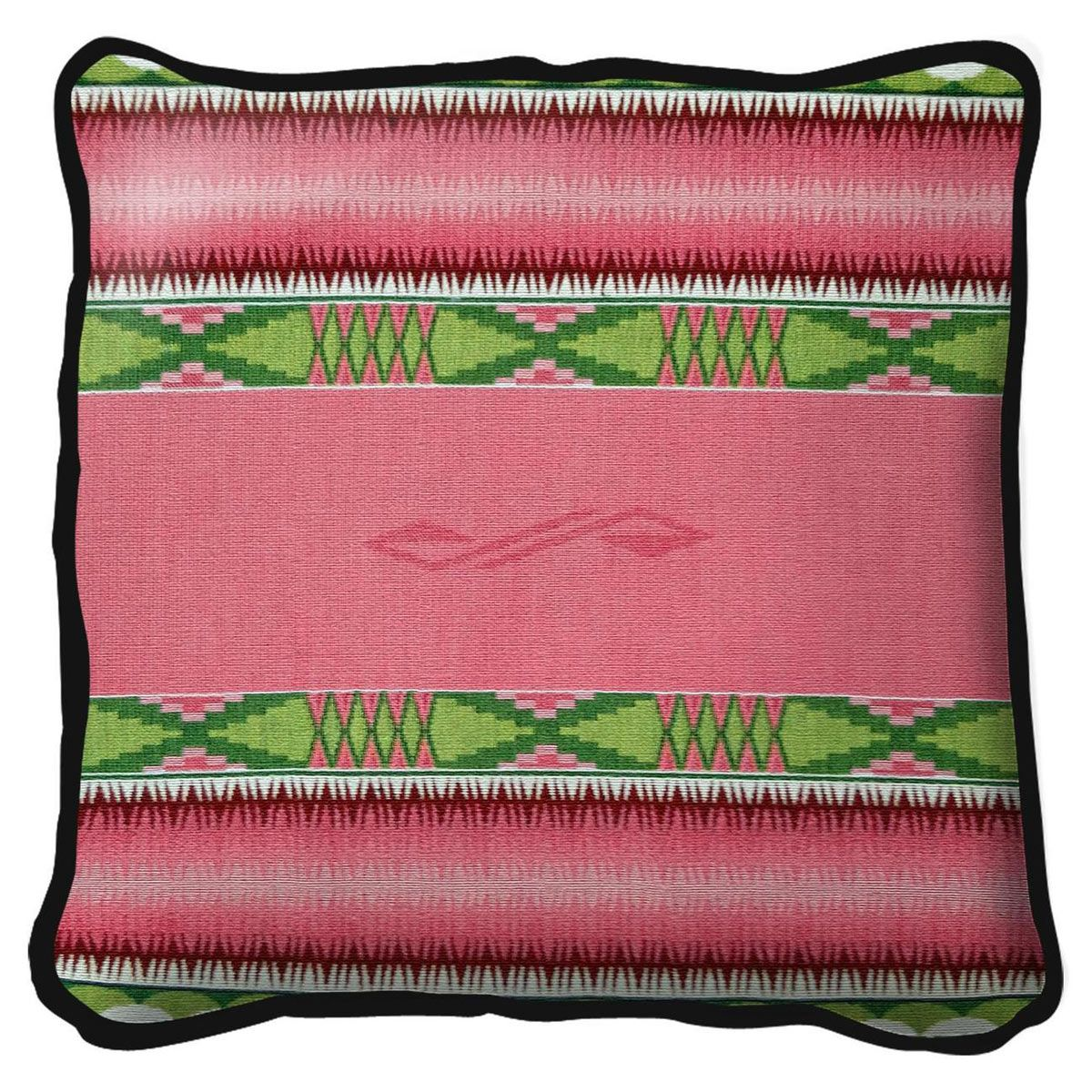 Concho Springs Rose Pillow