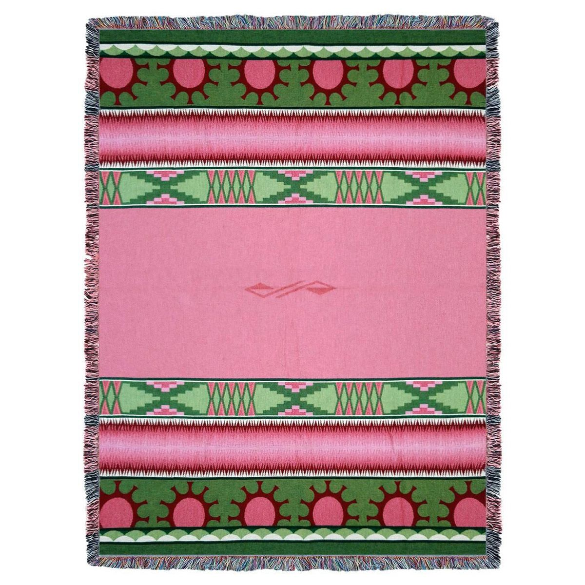 Concho Springs Rose Tapestry Throw
