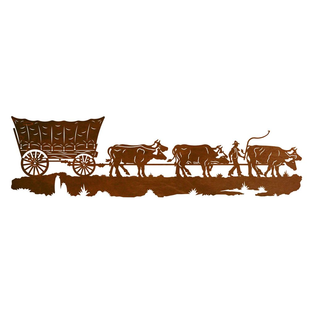 Conestoga Wagon Metal Wall Art