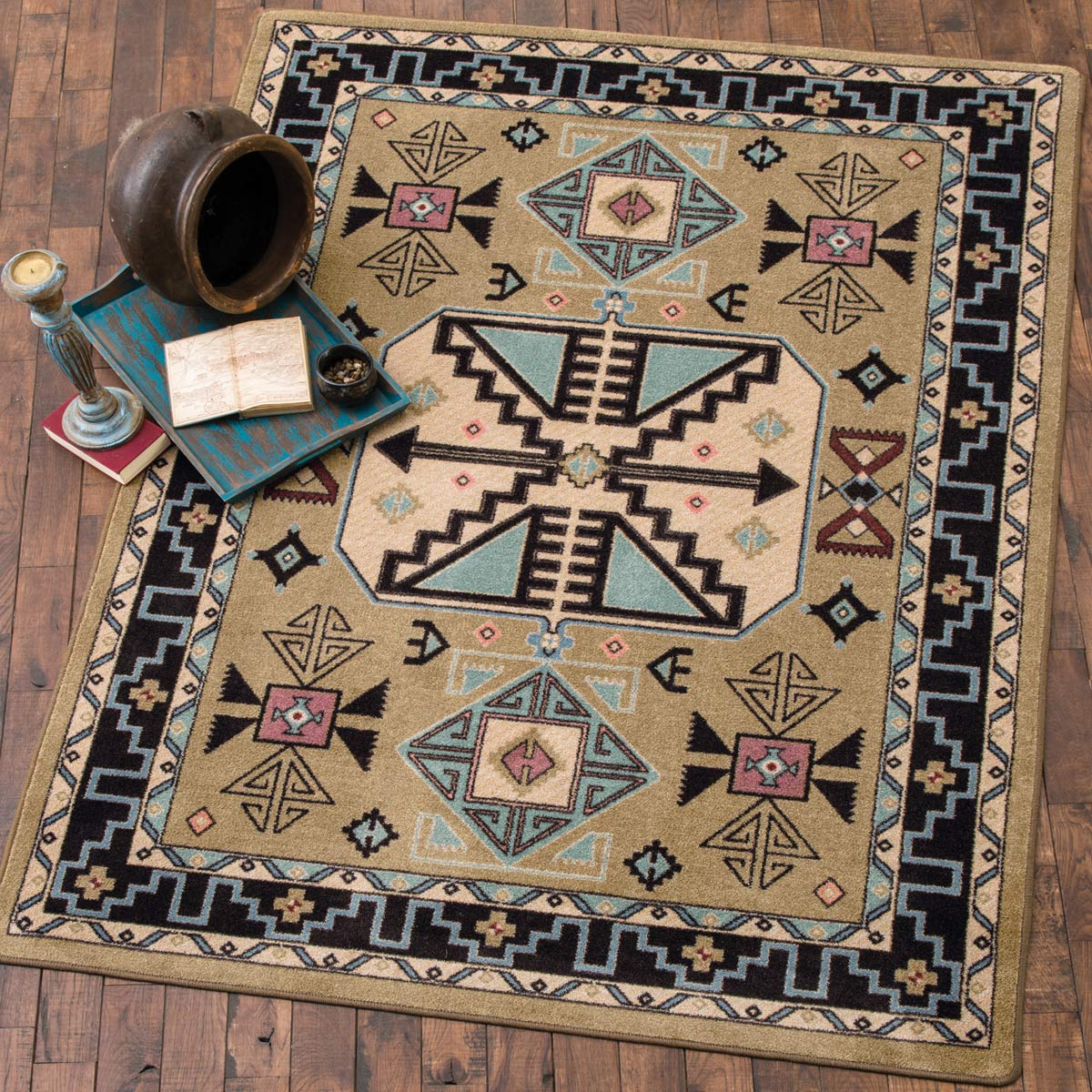 Copper Canyon Rug - 2 x 8