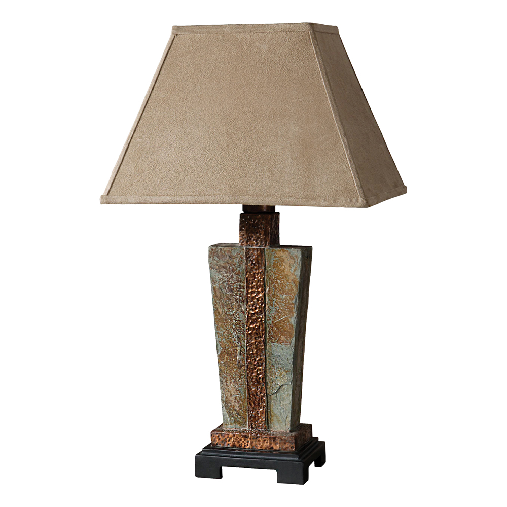 Copper Valley Table Lamp