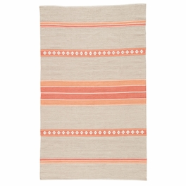 Coral & Gray Path Rug Collection