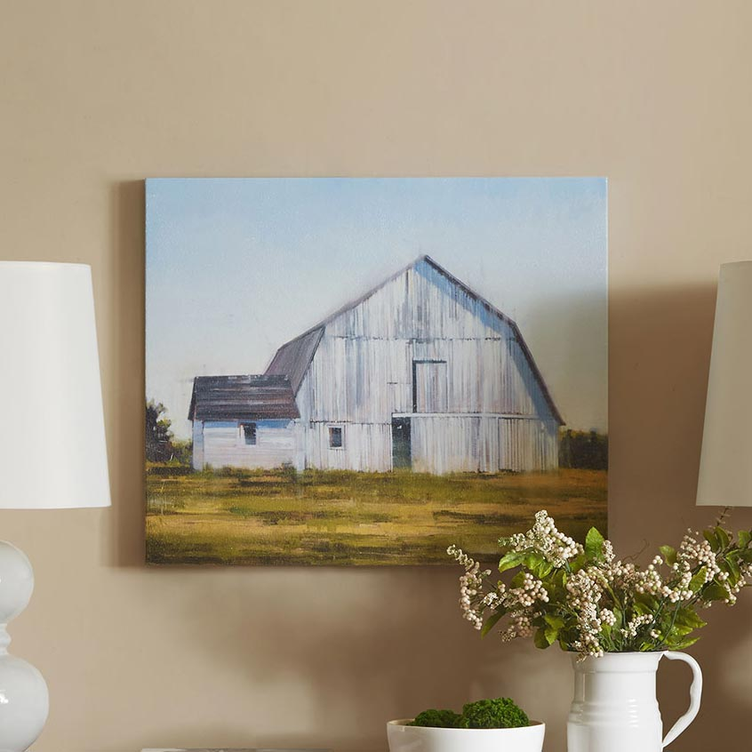 Country Barn Canvas Art