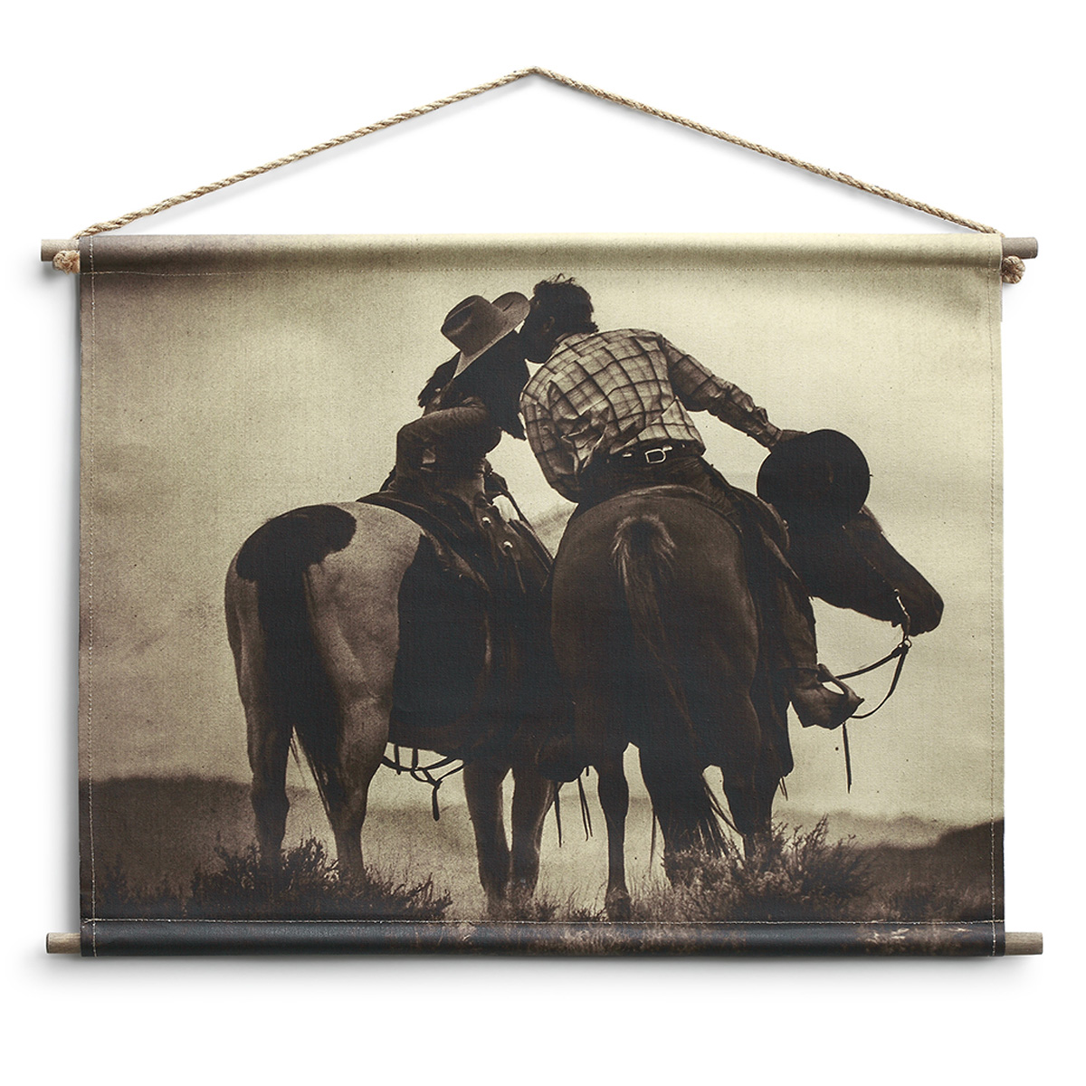 Country Love Canvas Wall Hanging