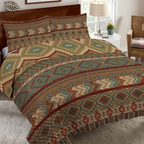 Country Mood Sage Quilt Set - Twin