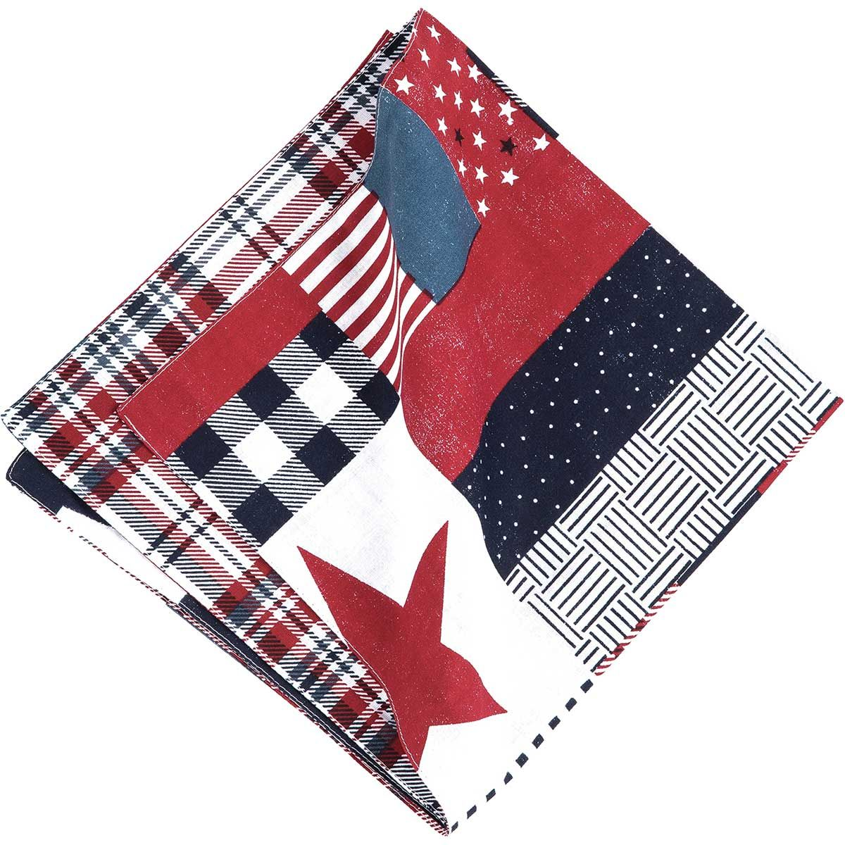 Country Picnic Reversible Napkins - Set of 6