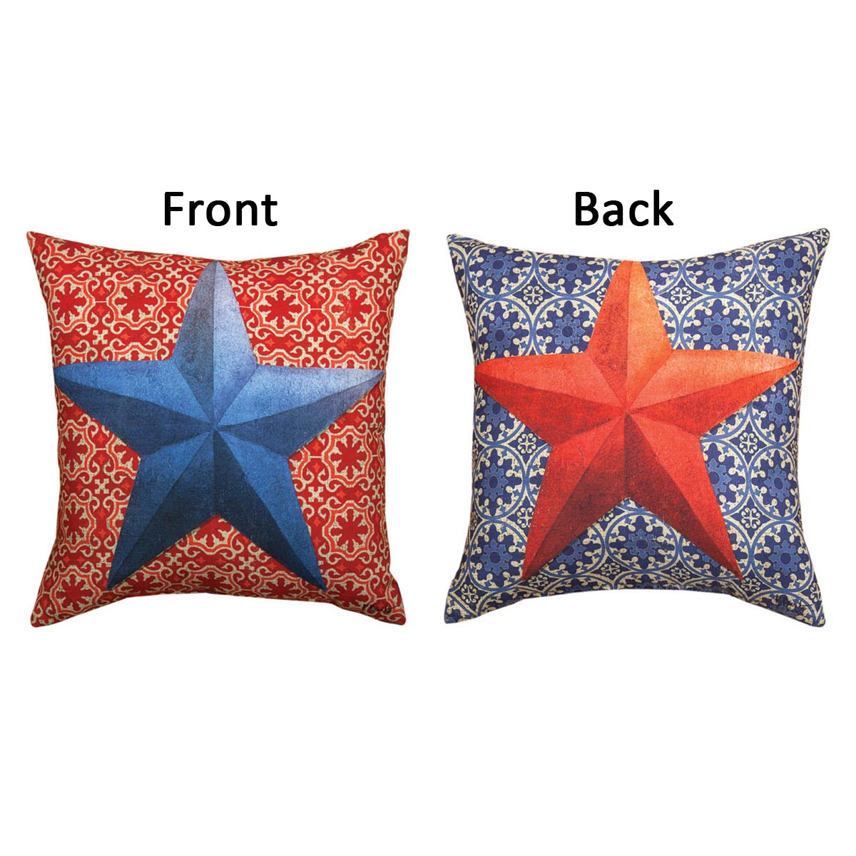 Country Stars Reversible Pillow