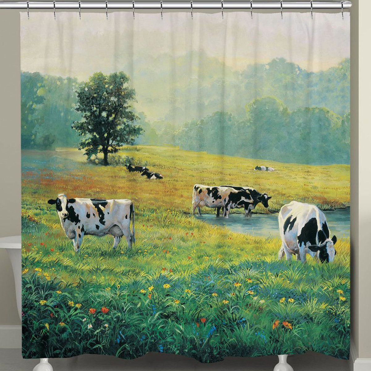Cow Country Shower Curtain