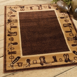 Cowboy Boots Rug Collection