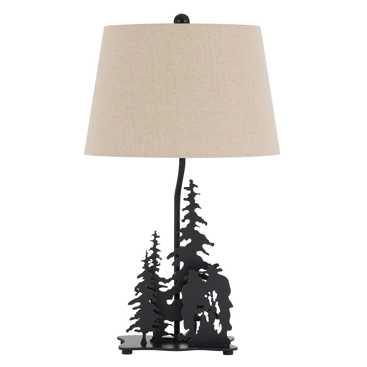 Cowboy Campfire Table Lamp