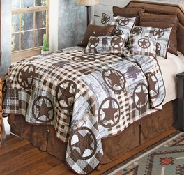 Cowboy Life Quilt Bedding Collection