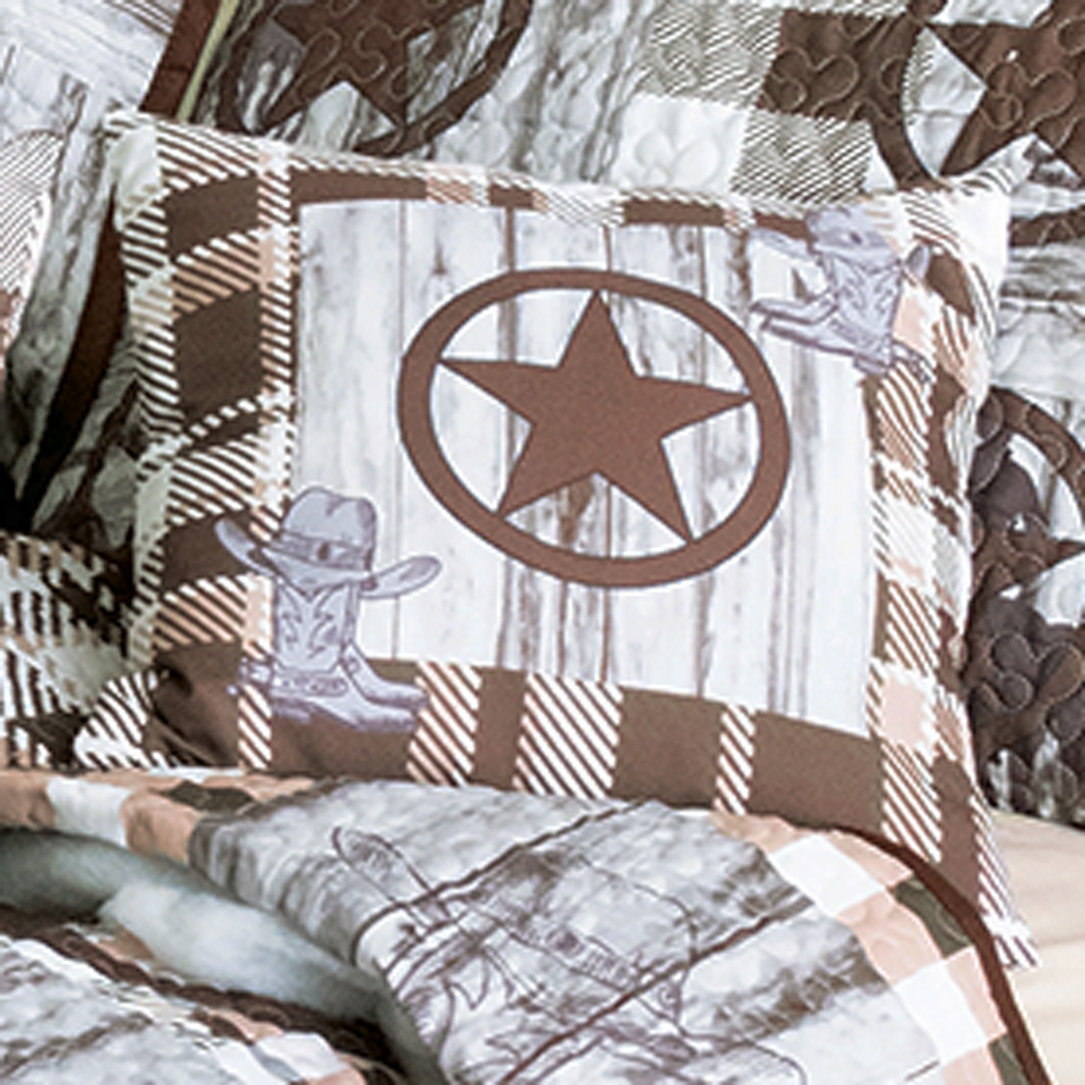 Cowboy Life Square Pillow