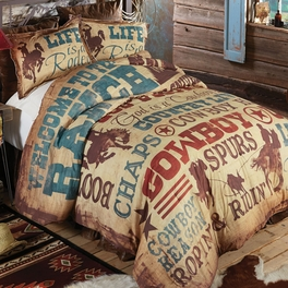 Cowboy Lifestyle Bedding Collection