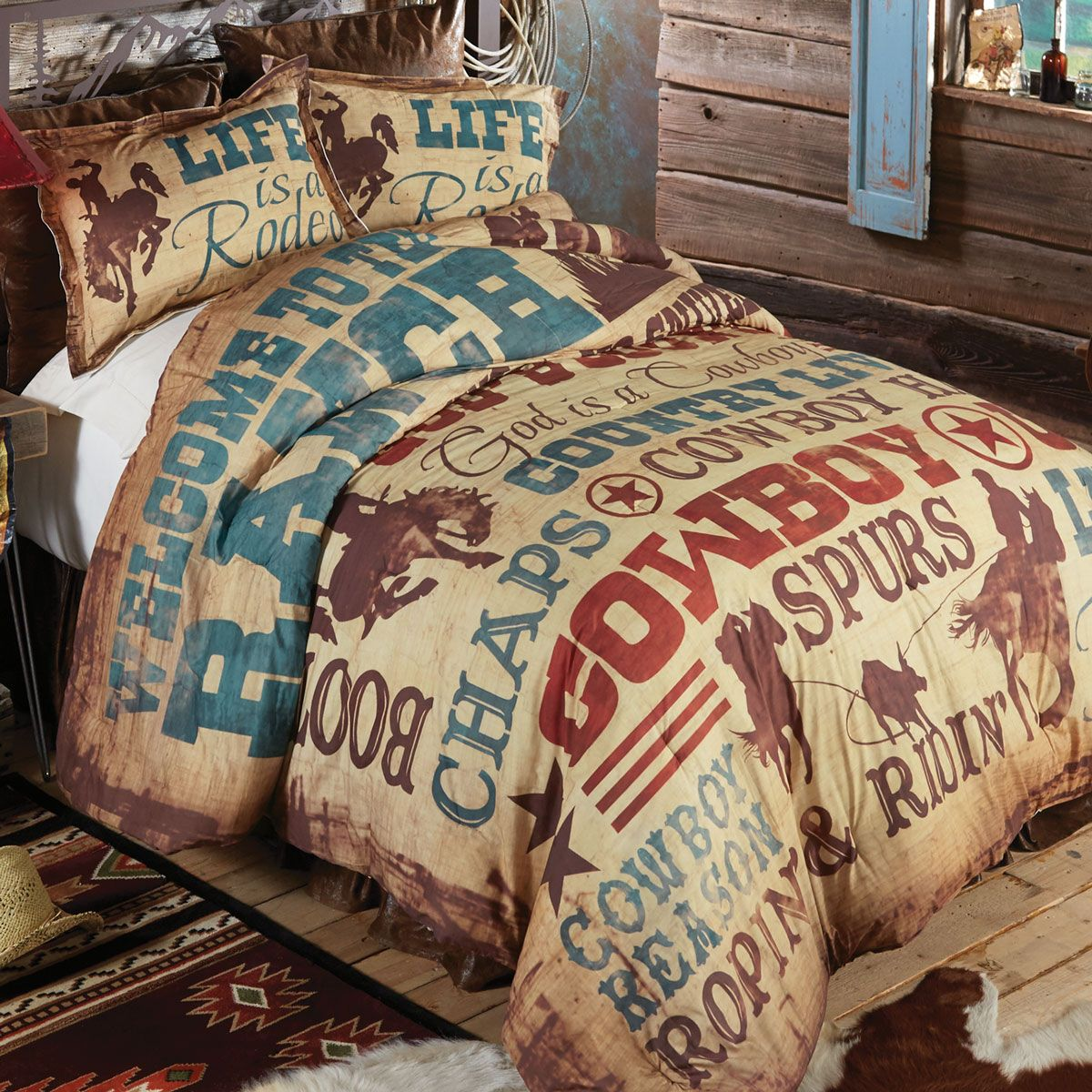 Cowboy Lifestyle Comforter - King - OVERSTOCK