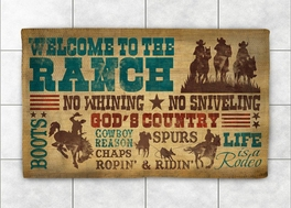 Cowboy Lifestyle Rug Collection