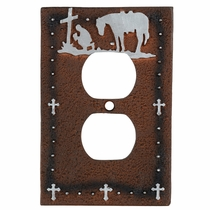 Cowboy Prayer Outlet Cover - CLEARANCE