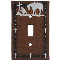 Cowboy Prayer Single Switch Cover - CLEARANCE