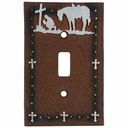 Cowboy Prayer Switch Covers
