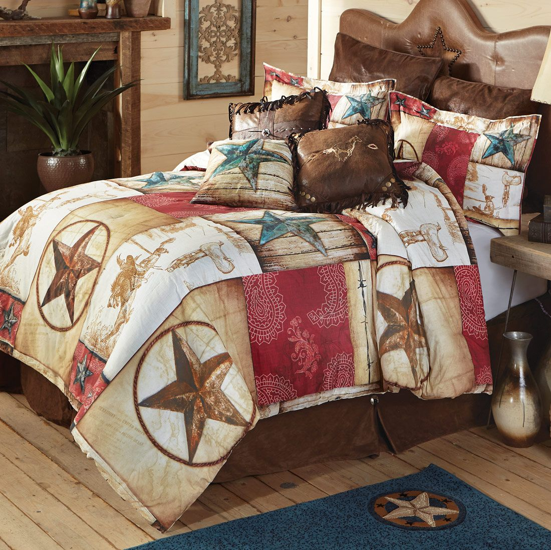 Cowboy Way Comforter - Queen - OVERSTOCK