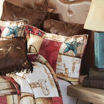 Cowboy Way King Sham - OUT OF STOCK
