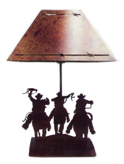 Cowboys Bedside Lamp