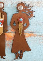Cowgirl Adventures Spirit Woman Wall Art - CLEARANCE