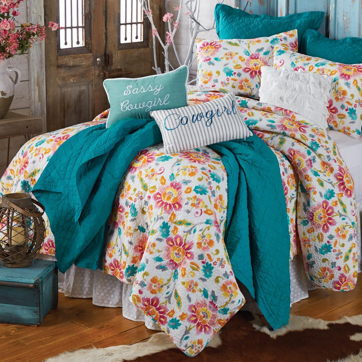 Cowgirl Dreams Quilt - King