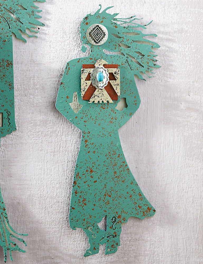 Cowgirl Spirit Turquoise Spirit Woman Wall Art