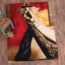 Cowgirl Way Rug - 4 x 5