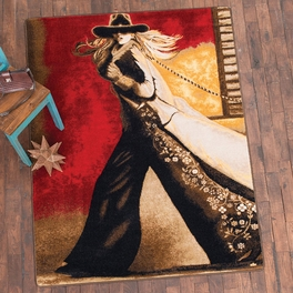Cowgirl Way Rug Collection
