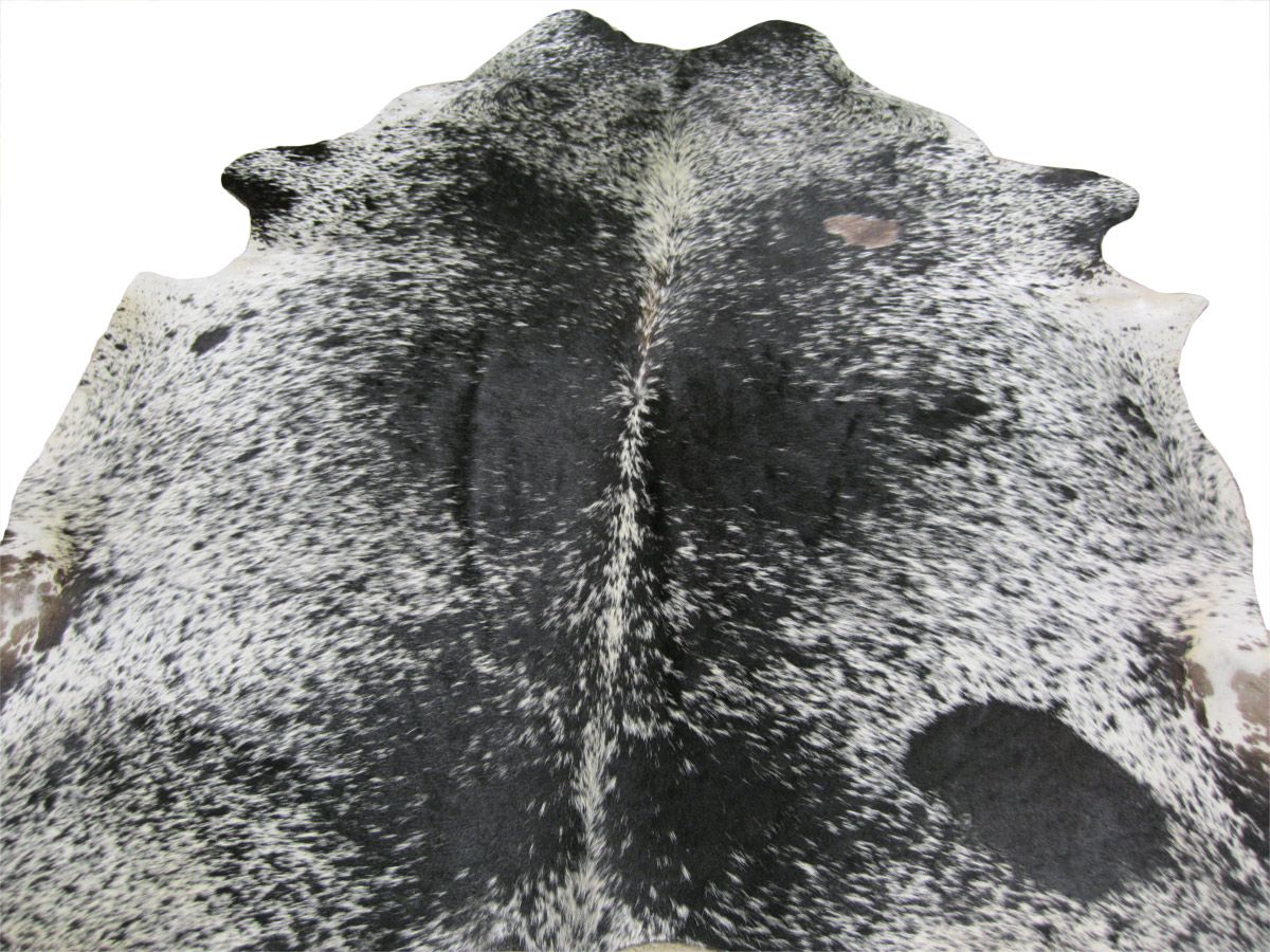 Cowhide Rug - Black & White Speckled