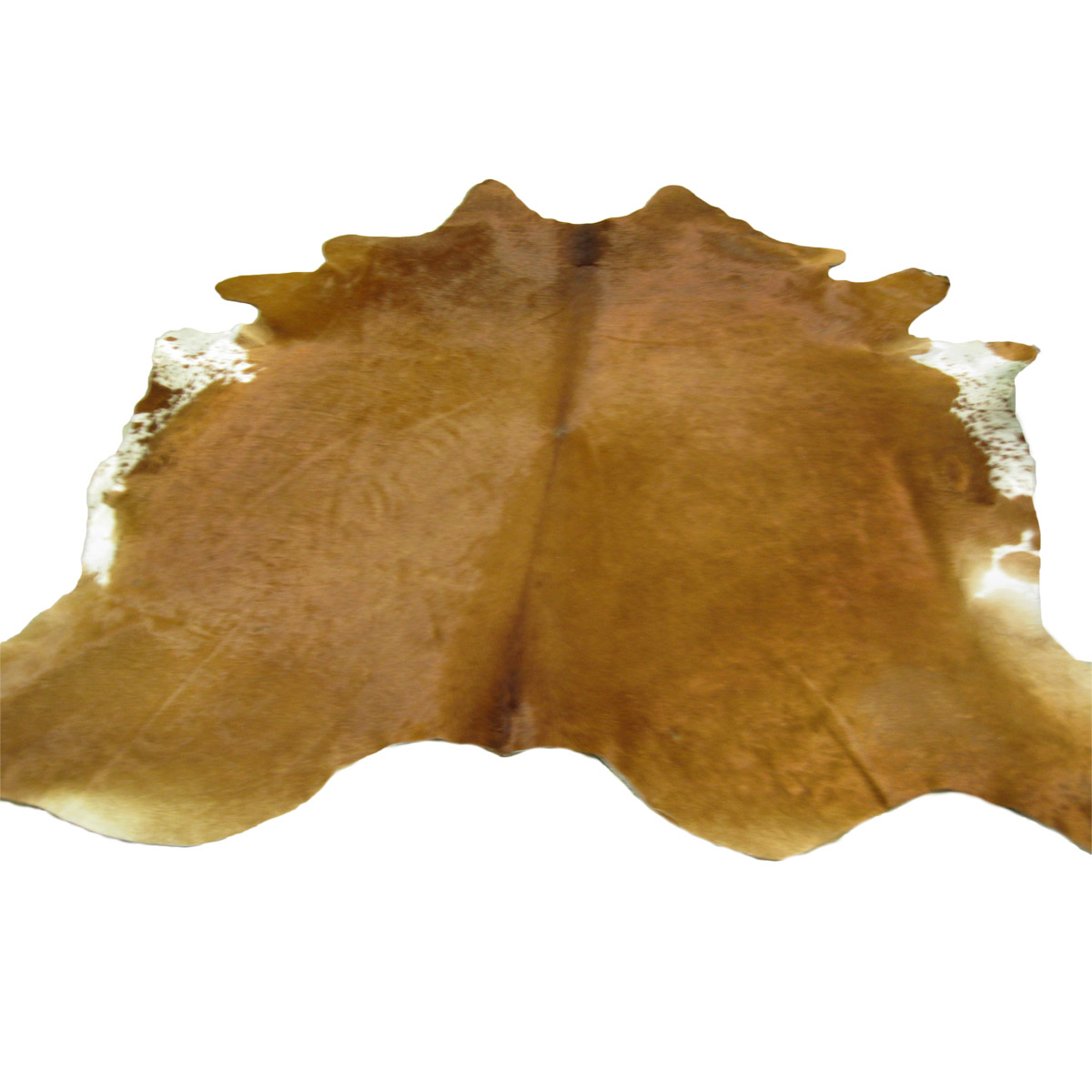 Cowhide Rug - Brown & White