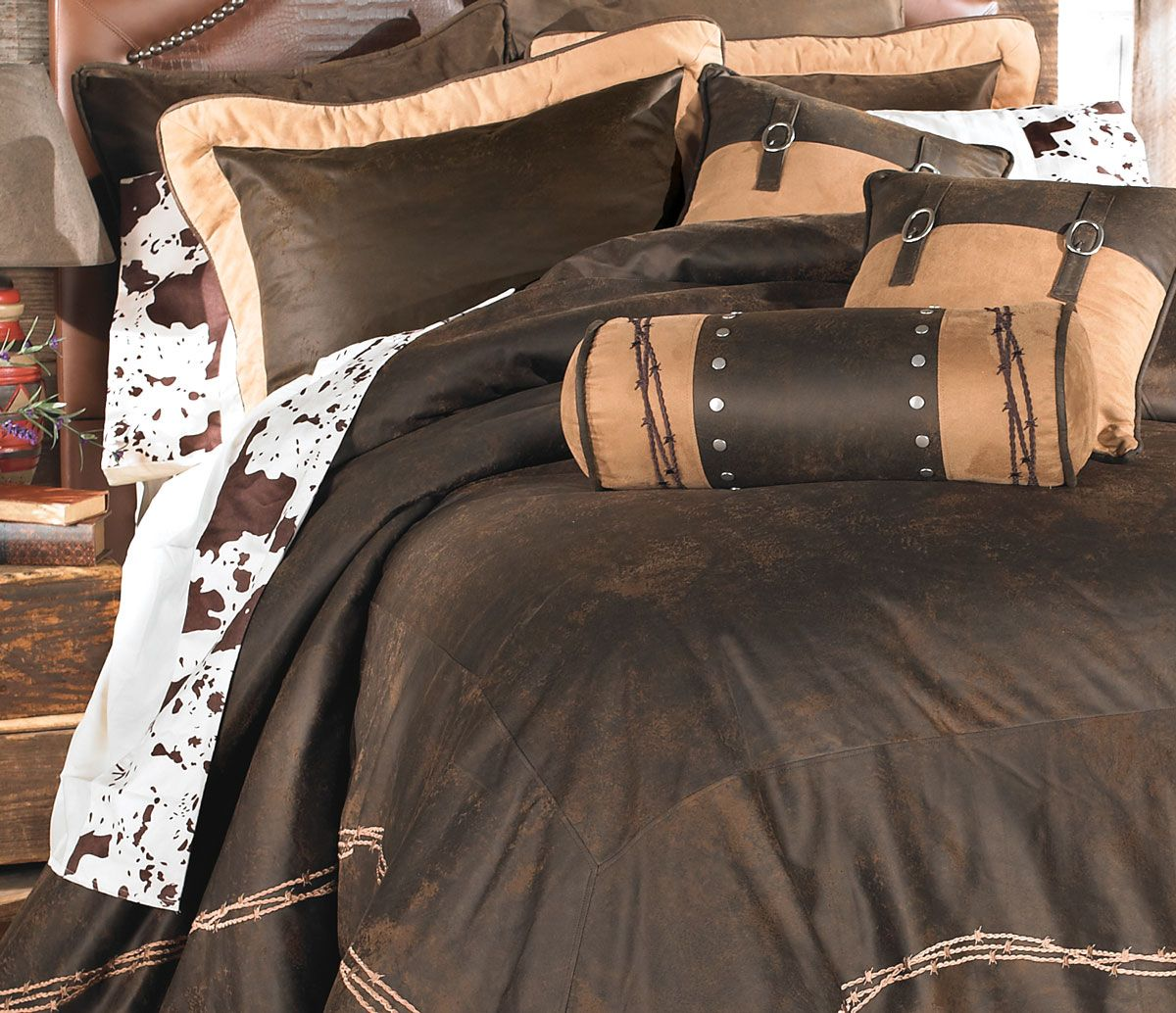 Cowhide Sheet Set - Full