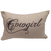 Crestwood Cowboy Accent Pillow - Cowgirl