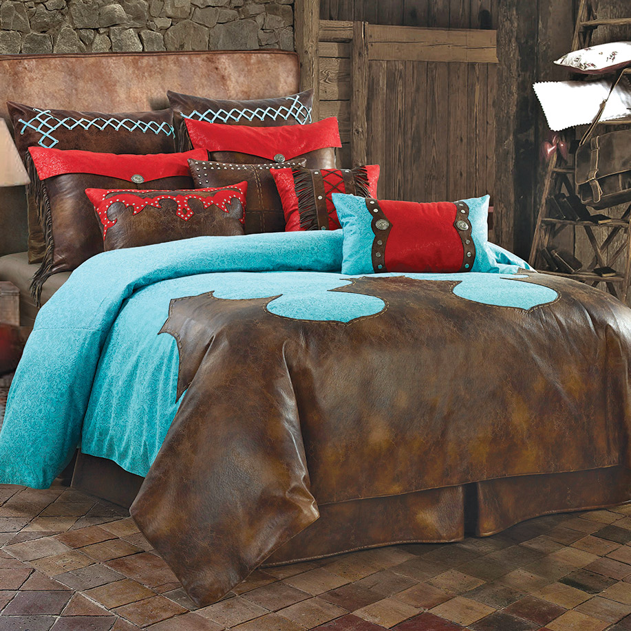 Cripple Creek Bed Set - Full - OVERSTOCK