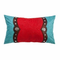 Cripple Creek Pillow with Conchos