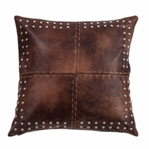 Cripple Creek Pillow with Stitches & Studs