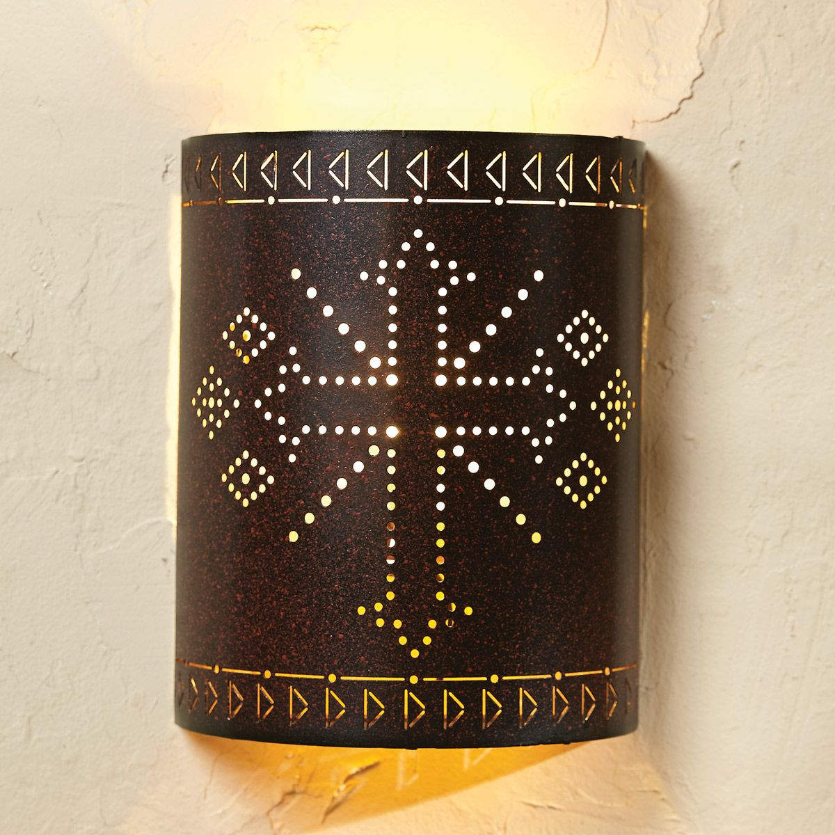 Cross Arrow Wall Sconce