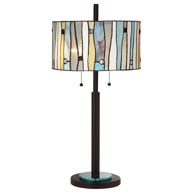 Rustic Lamps Crystal Creek Table Lamp