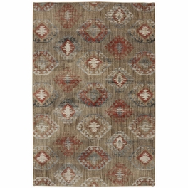 Crystal Rust Rug Collection