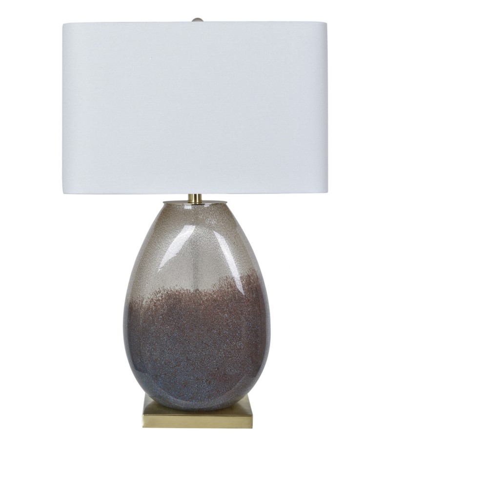 Crystal Sand Table Lamp